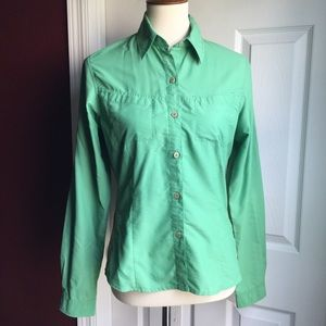 The North Face Green  Button Down Shirt